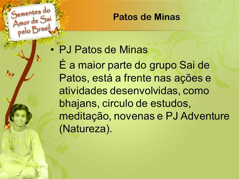 Patos de Minas PJ Patos de Minas.