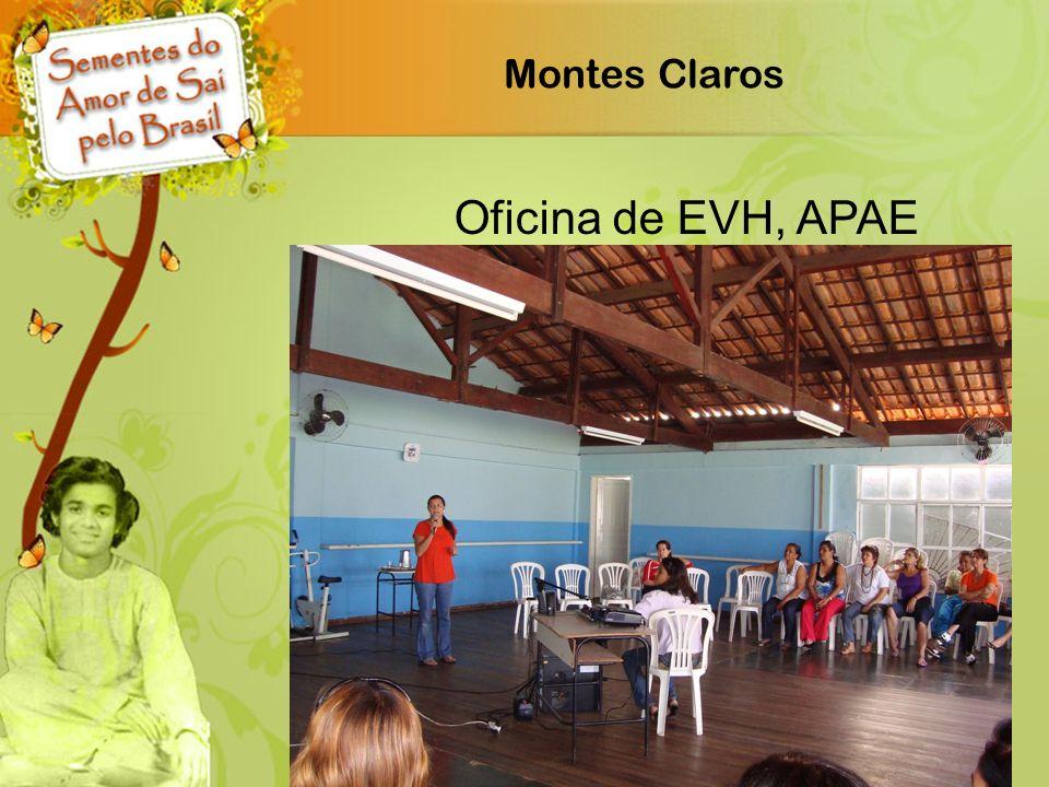 Montes Claros Oficina de EVH, APAE