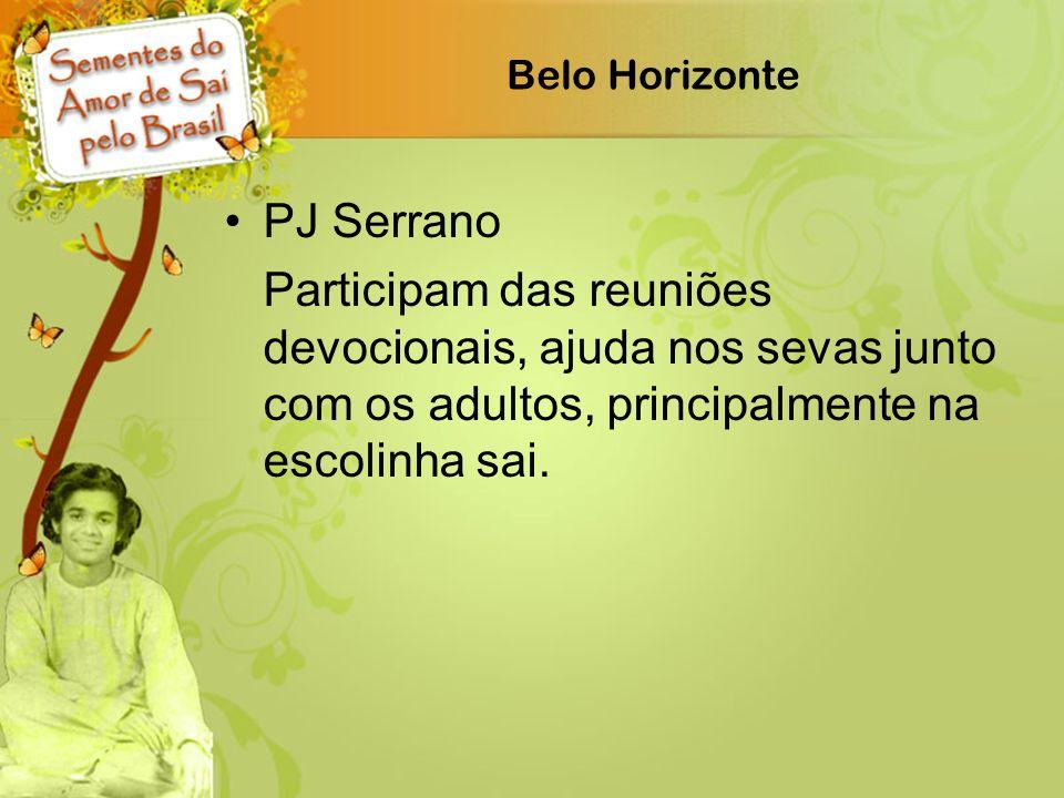 Belo Horizonte PJ Serrano.