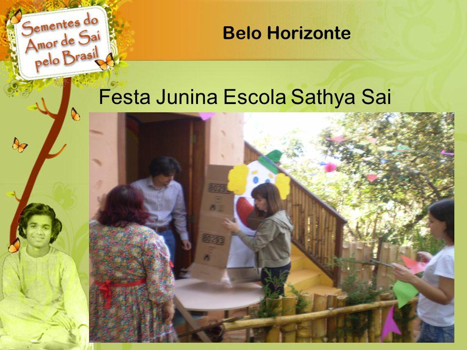 Festa Junina Escola Sathya Sai