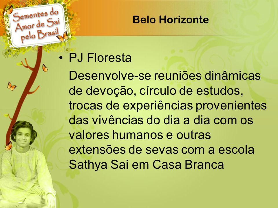 Belo Horizonte PJ Floresta.