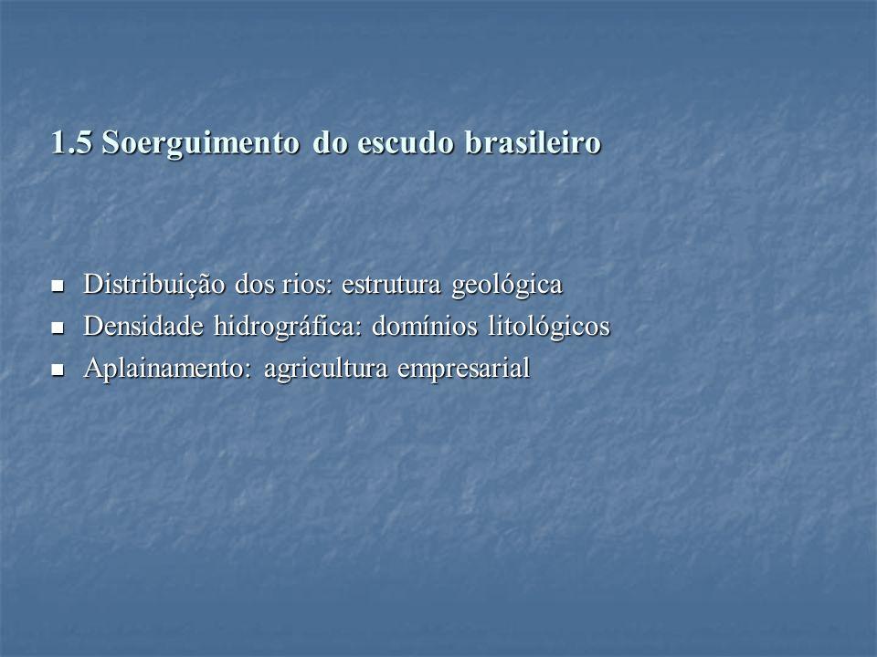 1.5 Soerguimento do escudo brasileiro