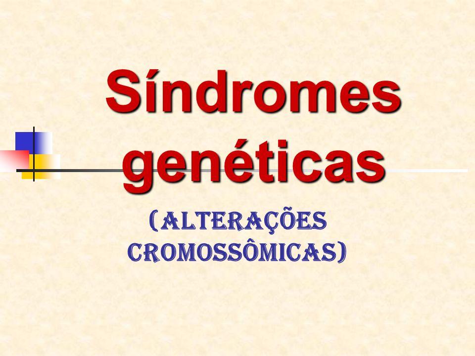 (Alterações cromossômicas)
