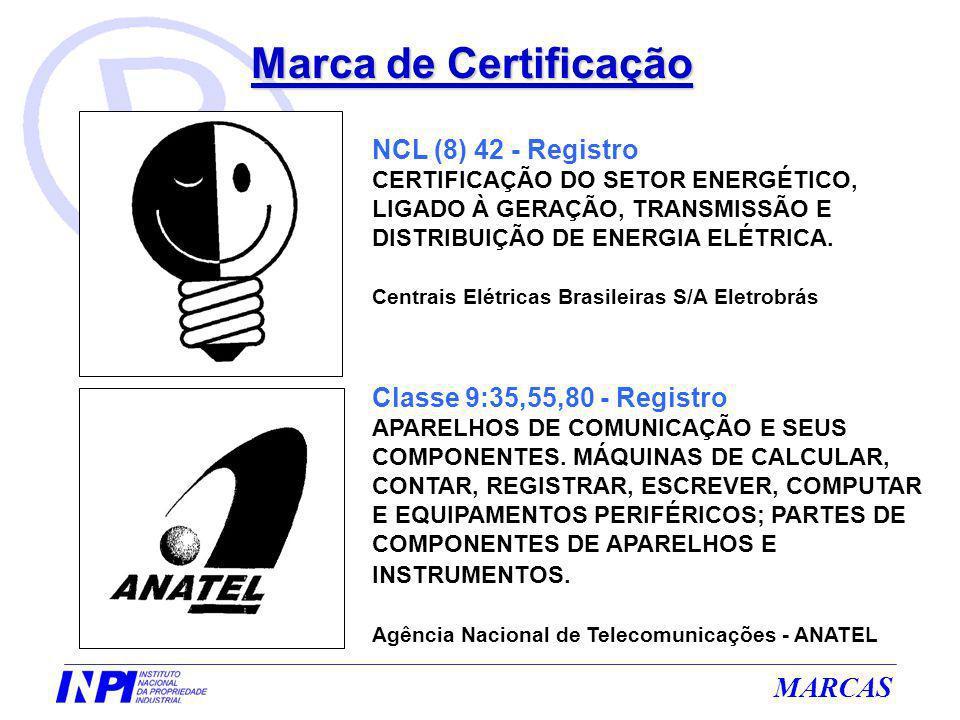 Marca de Certificação NCL (8) 42 - Registro