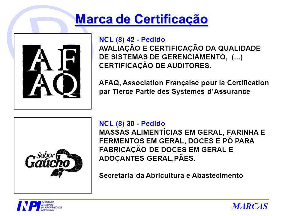 Marca de Certificação NCL (8) 42 - Pedido
