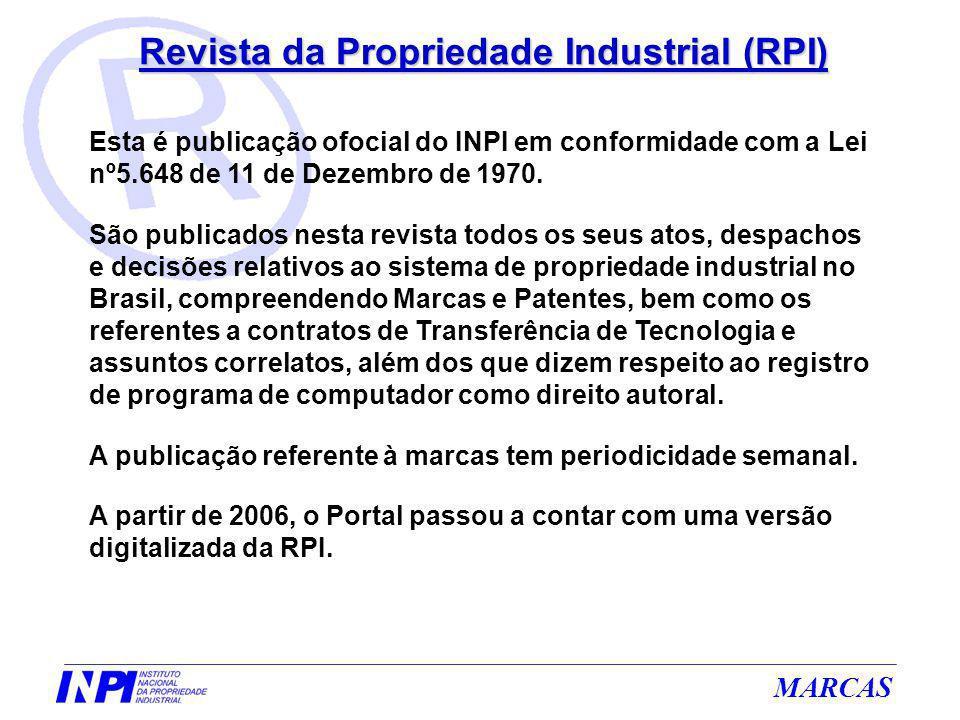 Revista da Propriedade Industrial (RPI)
