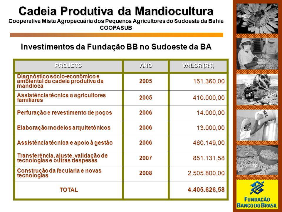 Cadeia Produtiva da Mandiocultura