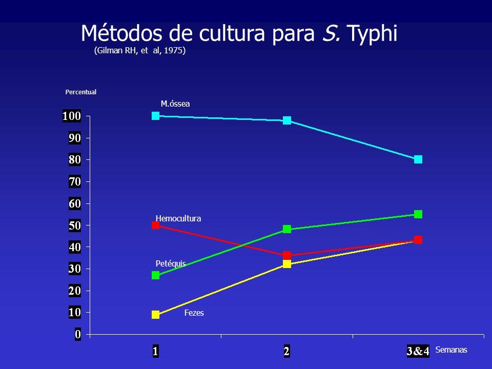 Métodos de cultura para S. Typhi