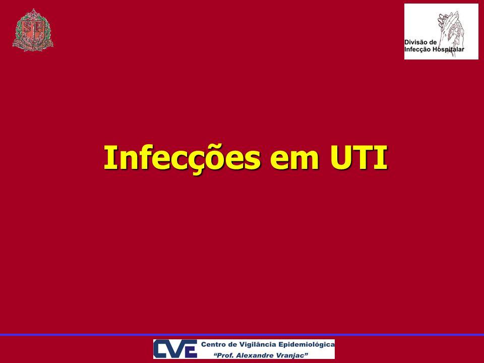 Infecções em UTI