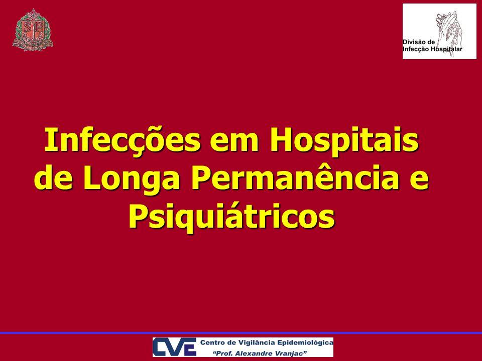 Infecções em Hospitais de Longa Permanência e Psiquiátricos