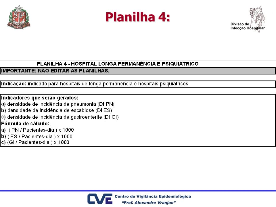 Planilha 4: