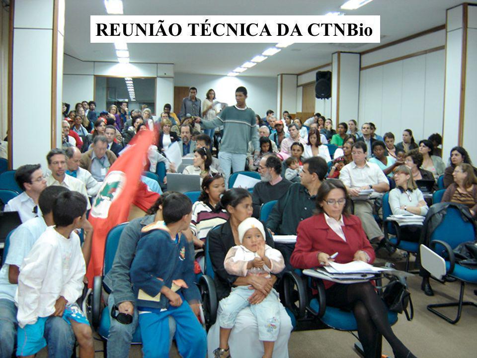 REUNIÃO TÉCNICA DA CTNBio