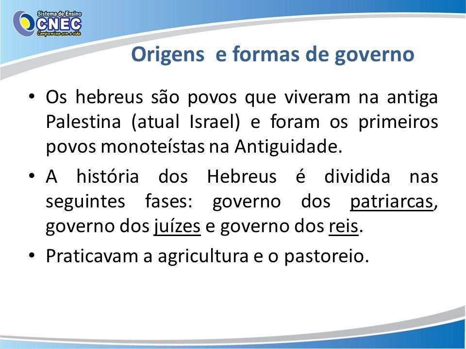 Origens e formas de governo