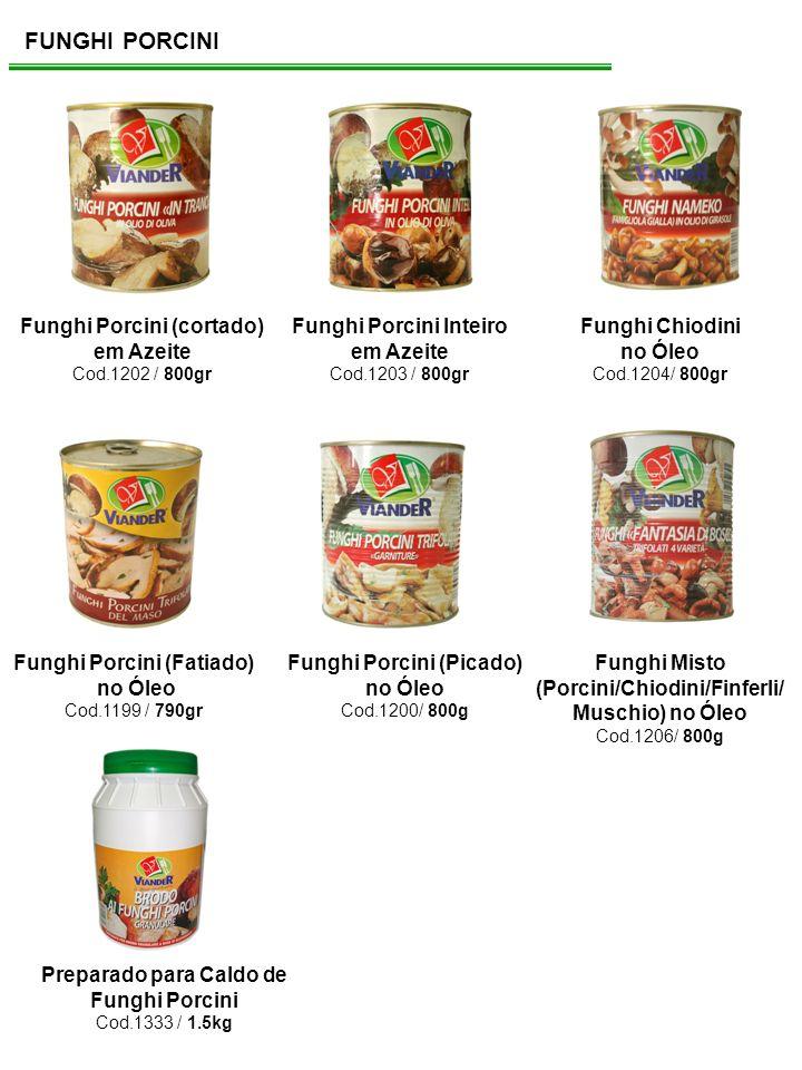 FUNGHI PORCINI Funghi Porcini (cortado) em Azeite