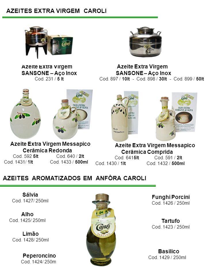 AZEITES EXTRA VIRGEM CAROLI