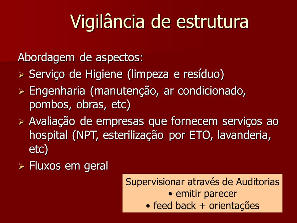 Vigilância de estrutura