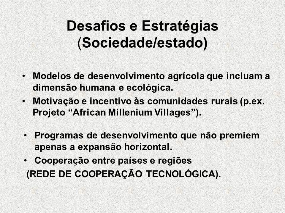 Desafios e Estratégias (Sociedade/estado)