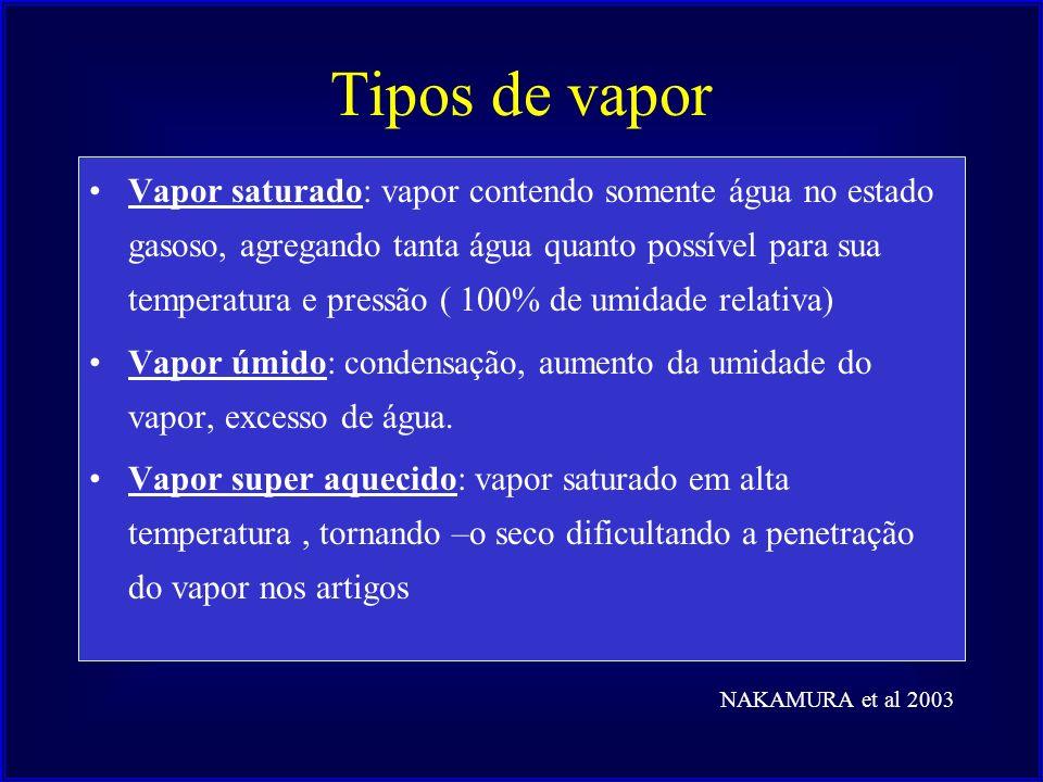 Tipos de vapor