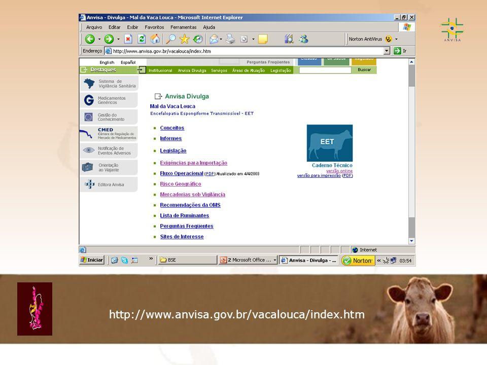 http://www.anvisa.gov.br/vacalouca/index.htm