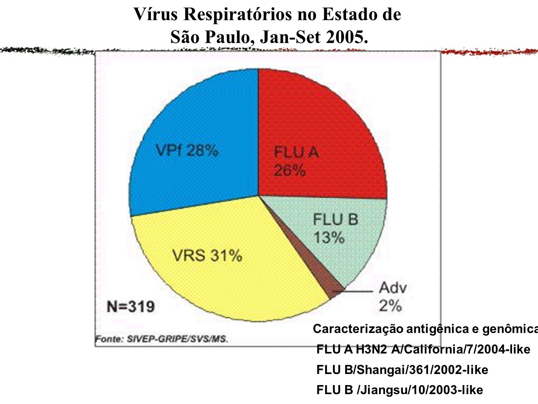 Vírus Respiratórios no Estado de