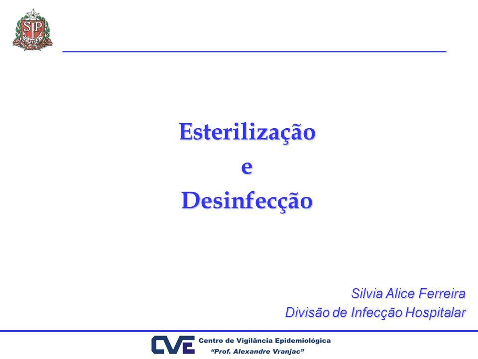 Esterilização e Desinfecção