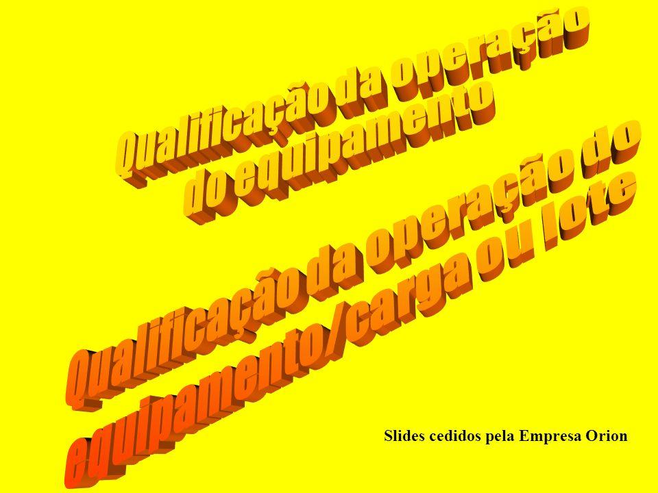 Qualificação da operação do equipamento Qualificação da operação do