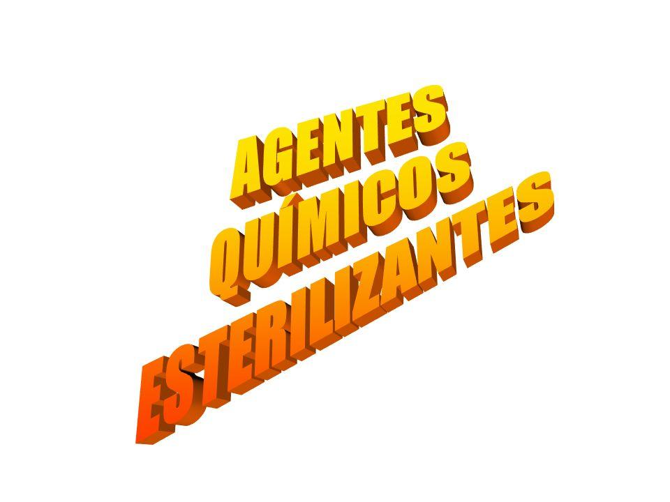 AGENTES QUÍMICOS ESTERILIZANTES