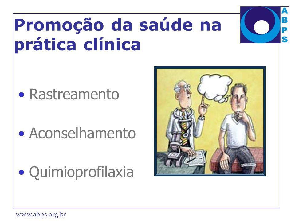 Promoção da saúde na prática clínica
