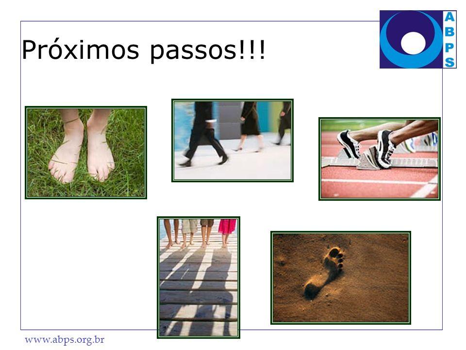 Próximos passos!!!