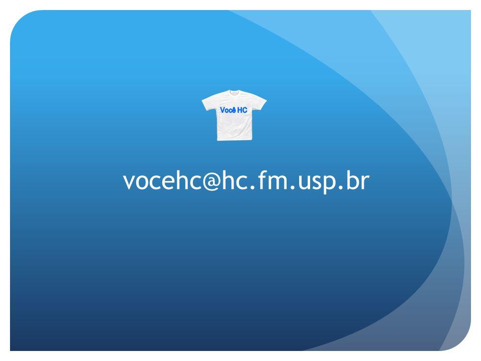 Você HC vocehc@hc.fm.usp.br