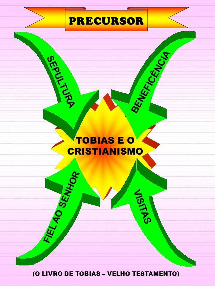PRECURSOR BENEFICÊNCIA SEPULTURA VISITAS TOBIAS E O CRISTIANISMO