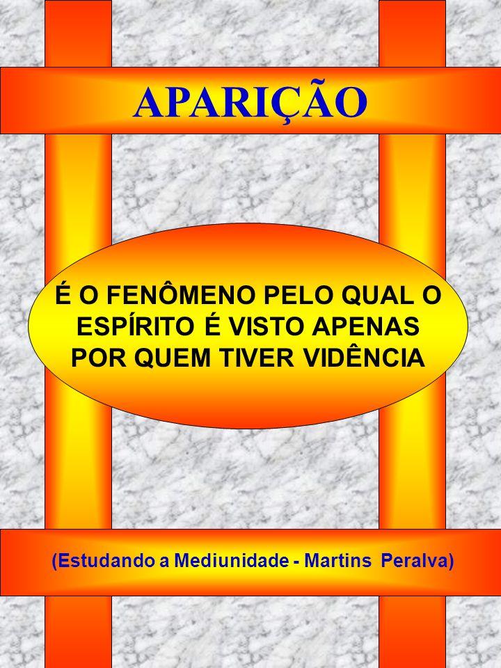 ESPÍRITO É VISTO APENAS POR QUEM TIVER VIDÊNCIA
