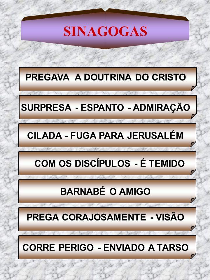 SINAGOGAS PREGAVA A DOUTRINA DO CRISTO SURPRESA - ESPANTO - ADMIRAÇÃO
