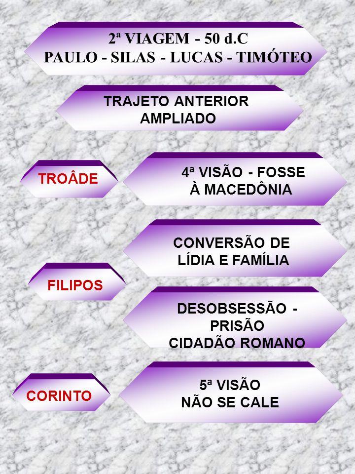 PAULO - SILAS - LUCAS - TIMÓTEO