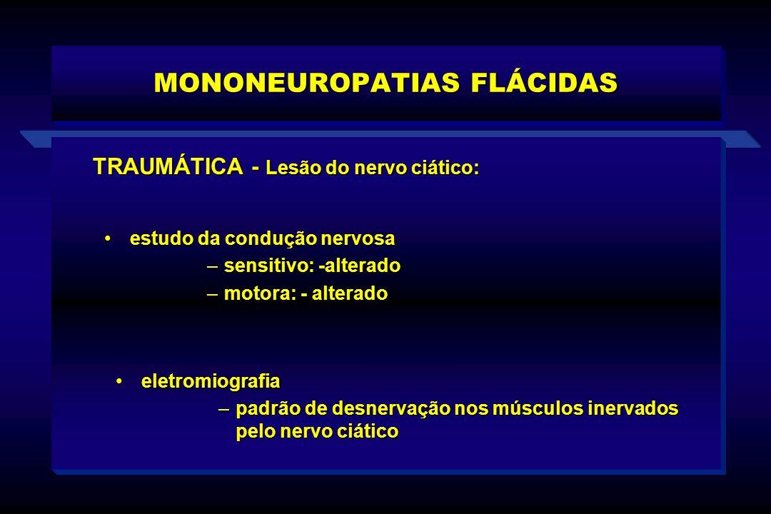 MONONEUROPATIAS FLÁCIDAS