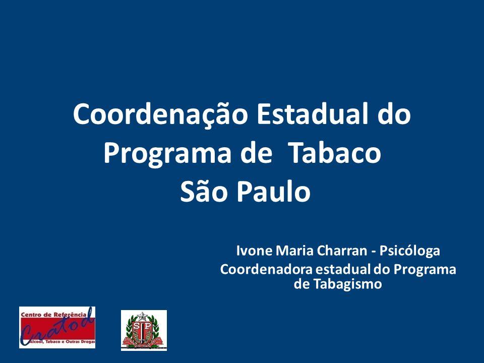 Coordenação Estadual do Programa de Tabaco São Paulo