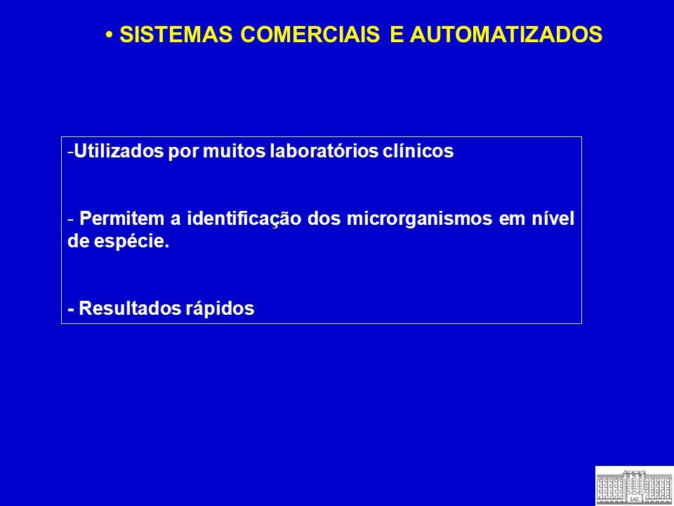 • SISTEMAS COMERCIAIS E AUTOMATIZADOS