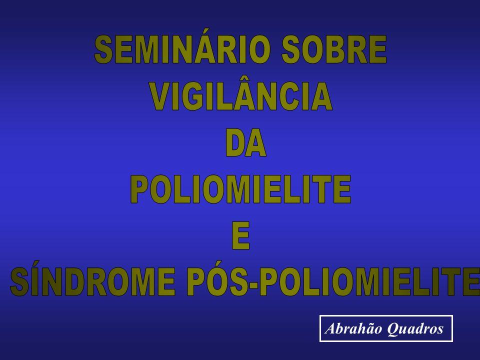 SÍNDROME PÓS-POLIOMIELITE