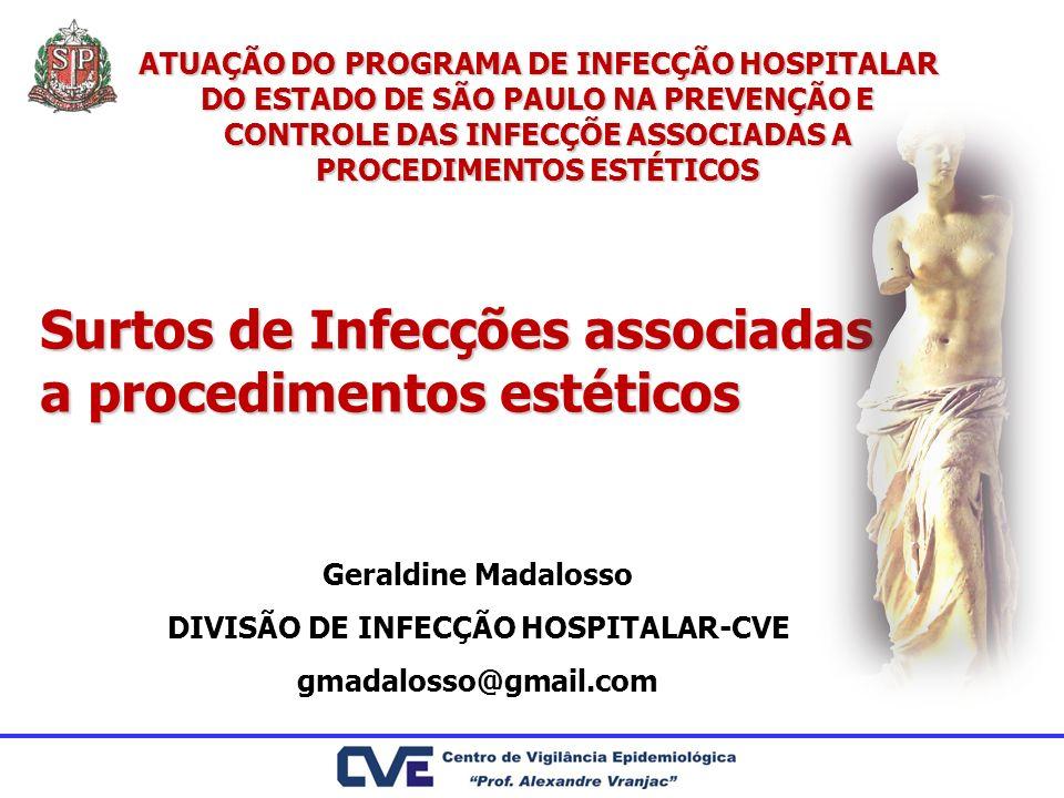 DIVISÃO DE INFECÇÃO HOSPITALAR-CVE