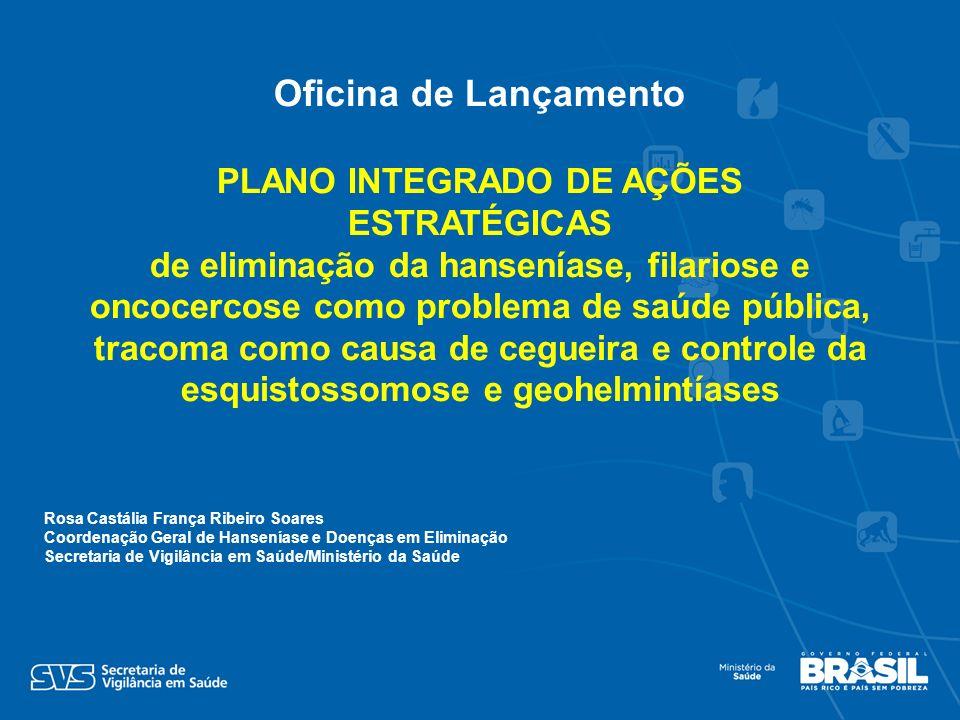 PLANO INTEGRADO DE AÇÕES ESTRATÉGICAS