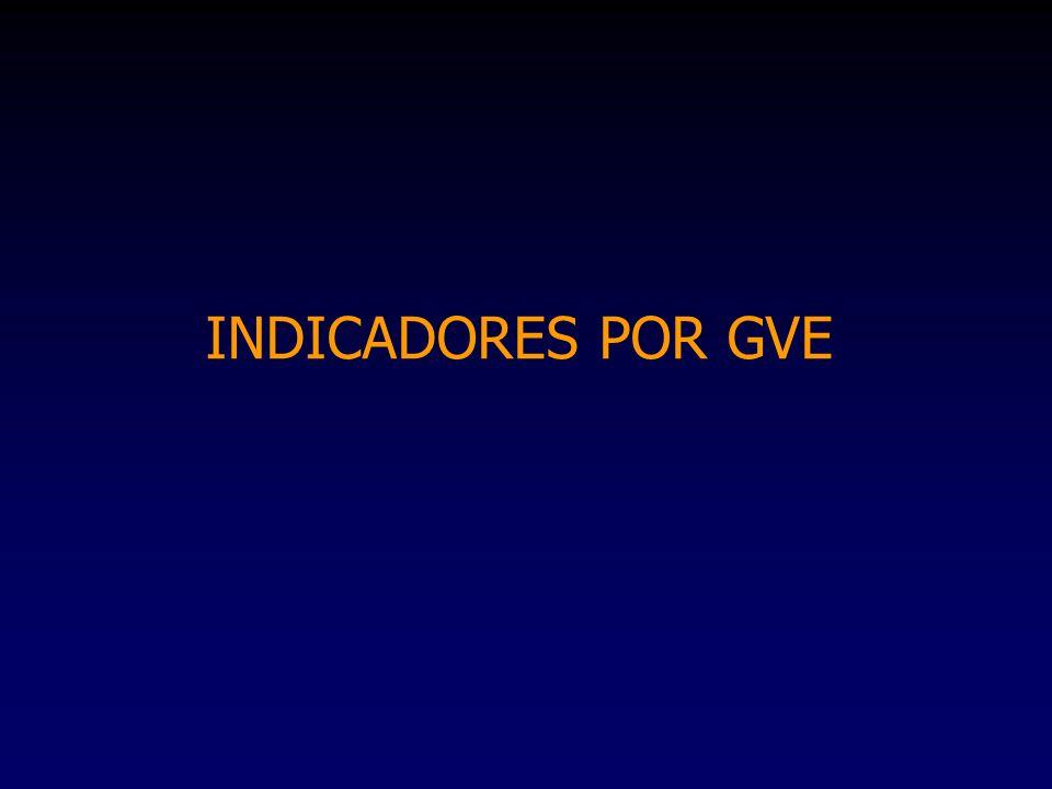 INDICADORES POR GVE