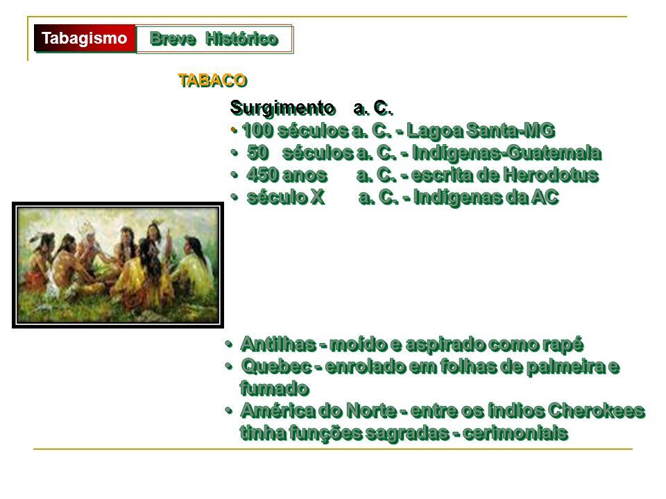 100 séculos a. C. - Lagoa Santa-MG