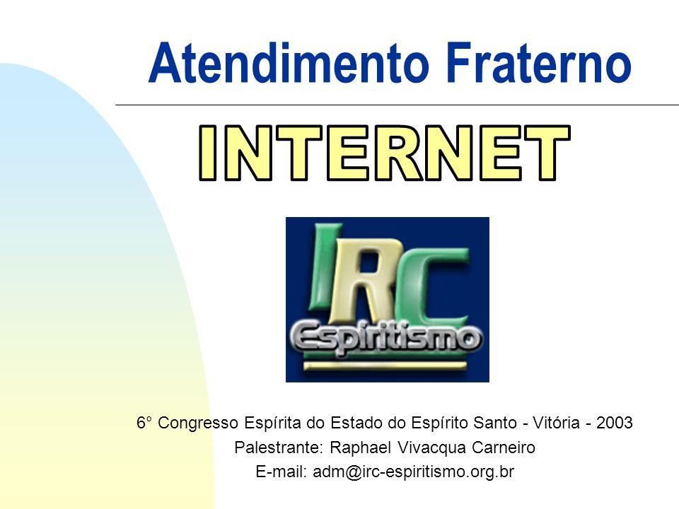 Atendimento Fraterno INTERNET