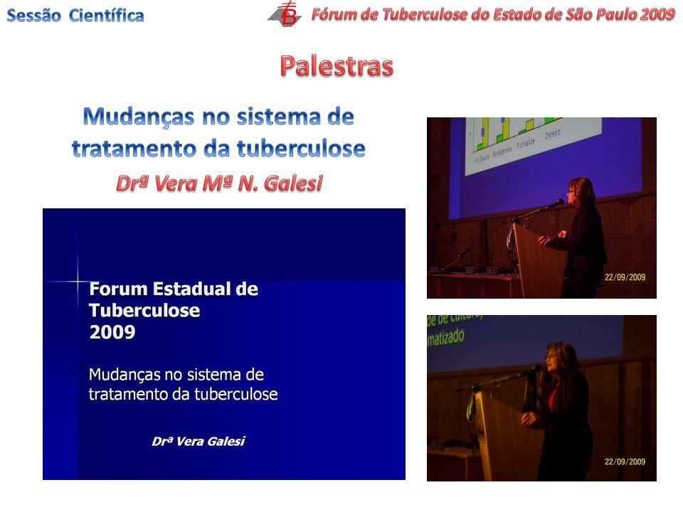 Palestras Mudanças no sistema de tratamento da tuberculose