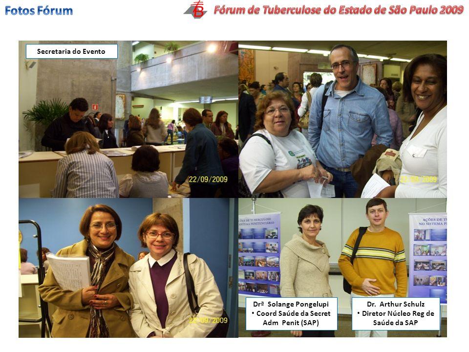 Fotos Fórum Fórum de Tuberculose do Estado de São Paulo 2009