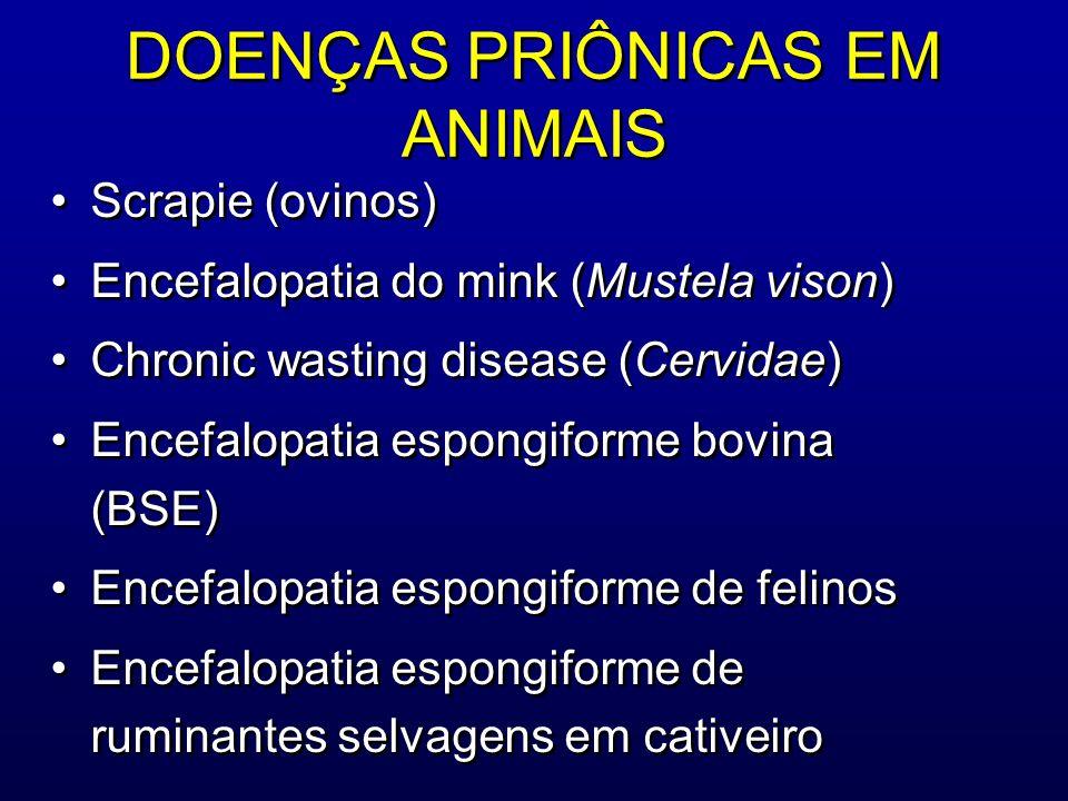 DOENÇAS PRIÔNICAS EM ANIMAIS