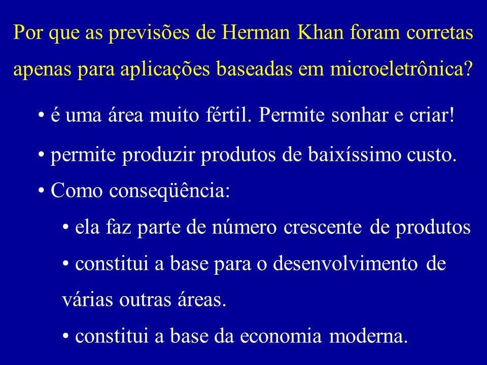 Por que as previsões de Herman Khan foram corretas