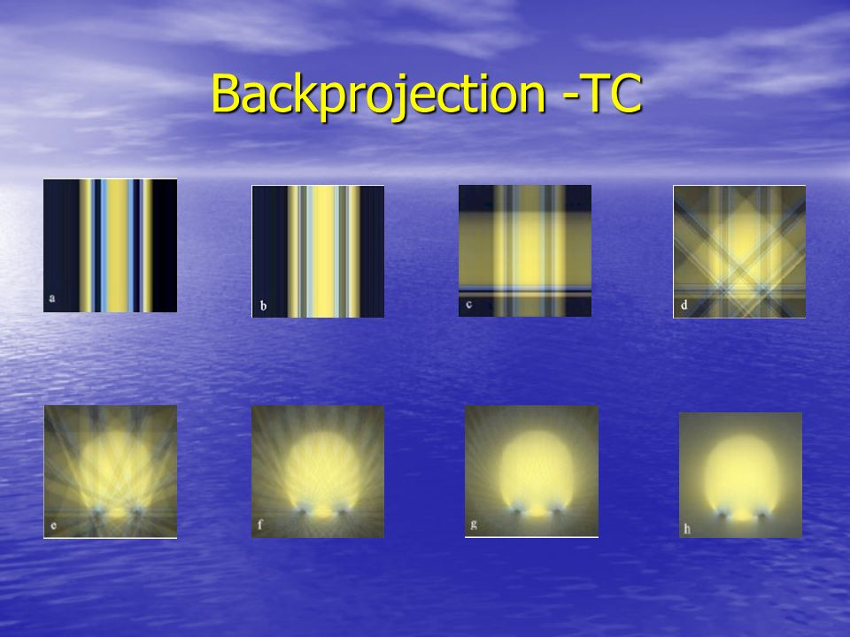 Backprojection -TC