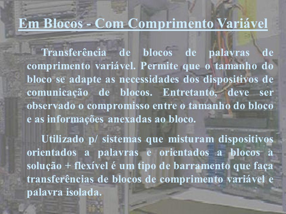 Em Blocos - Com Comprimento Variável