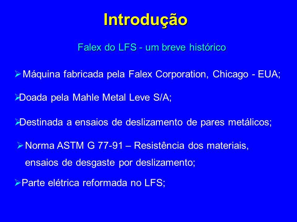 Falex do LFS - um breve histórico